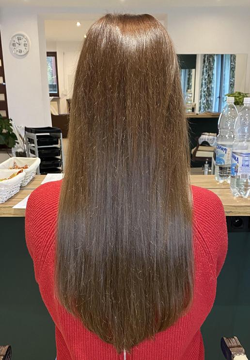 włosy dziewicze